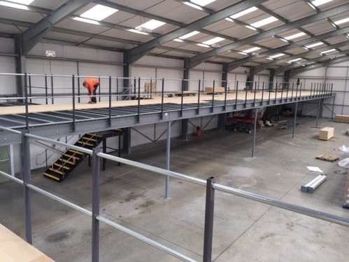 Benefits of Mezzanine Flooring - Advantage Storage & Handling