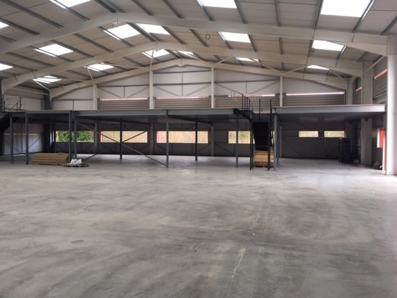 Advantage completes large mezzanine and fit-out build in Shropshire - Advantage Storage & Handling
