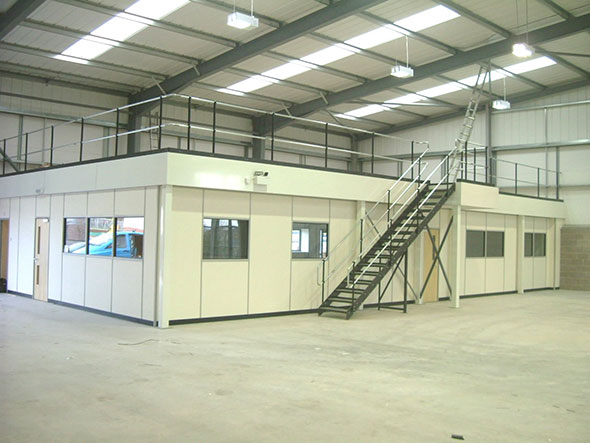 Mezzanine Flooring Considerations - Advantage Storage & Handling