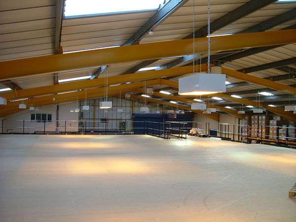 Mezzanine Solution Doubles Storage Space - Advantage Storage & Handling