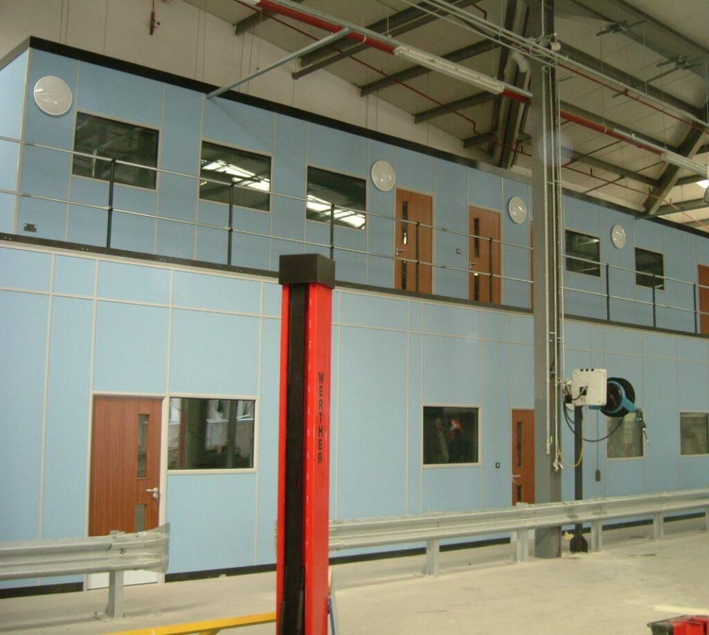 Complex Mezzanine Design