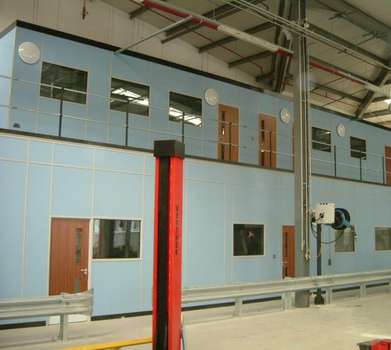 Complex Mezzanine Design - Advantage Storage & Handling