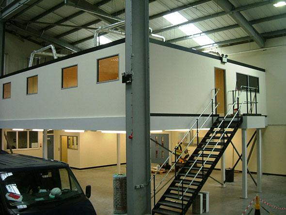 Mezzanine Floor For Training Classrooms - Advantage Storage & Handling