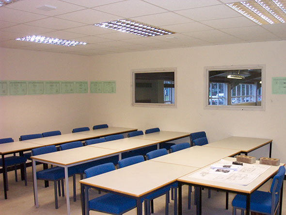 Education Mezzanine Floor - Advantage Storage & Handling