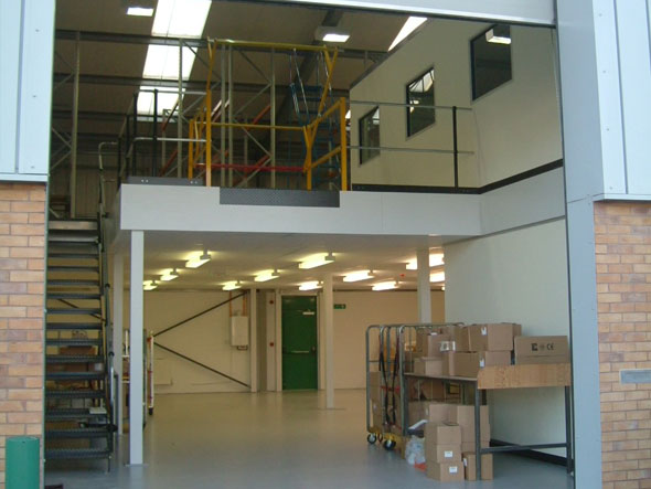Complete Design & Build Mezzanine - Advantage Storage & Handling