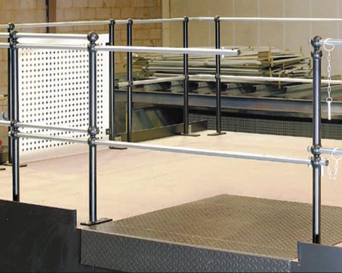 Still Using Sliding Rail Pallet Access on Your Mezzanine? - Advantage Storage & Handling