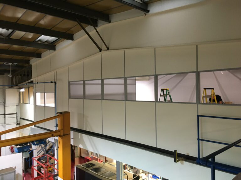 Advantage designs and installs mezzanine with accompanying office space - Advantage Storage & Handling